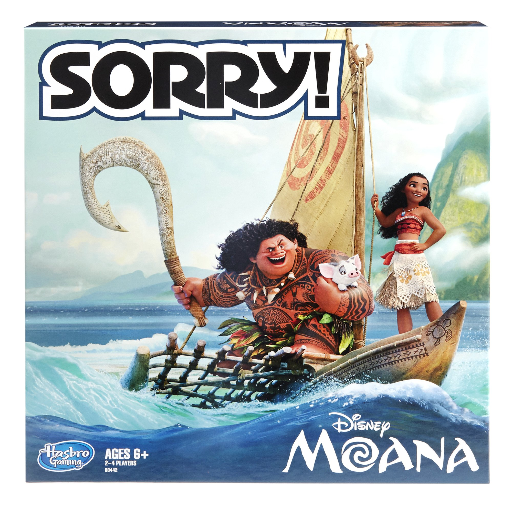Sorry! Game: Disney Moana Edition