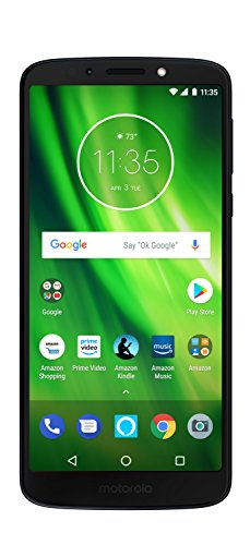 Moto G6 Play - 32 GB - Unlocked (AT&T/Sprint/T-Mobile/Verizon) - Deep Indigo - Prime Exclusive Phone