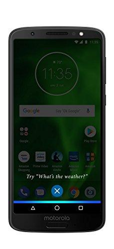 Moto G6 - 32 GB - Unlocked (AT&T/Sprint/T-Mobile/Verizon) - Black - Prime Exclusive Phone