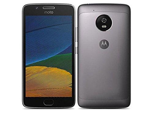 Moto G (5th Gen) G5 4G LTE Dual Sim XT1671 32GB Finger Print Reader Octa Core 2Gb Ram International Version Desbloqueado (Lunar Grey)