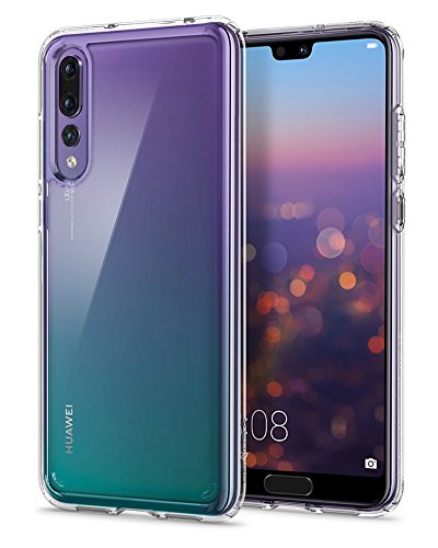 Spigen Ultra Hybrid HUAWEI P20 Pro Case with Air Cushion Technology and Clear Hybrid Drop Protection for Huawei P20 Pro (2018) - Crystal Clear