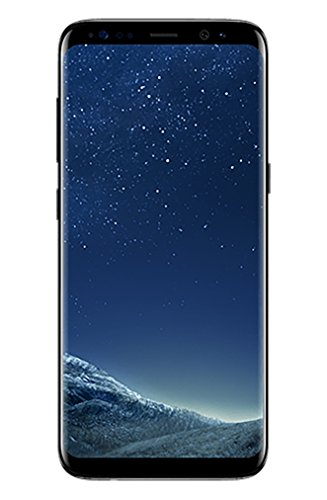 "Samsung Galaxy S8 (G950u GSM only) 5.8"" 64GB, Unlocked Smartphone for all GSM Carriers - Midnight Black (Certified Refurbished)"