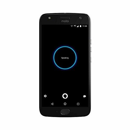 Moto X (4th Generation) - with hands-free Amazon Alexa - 32 GB - Unlocked - Super Black - Prime Exclusive