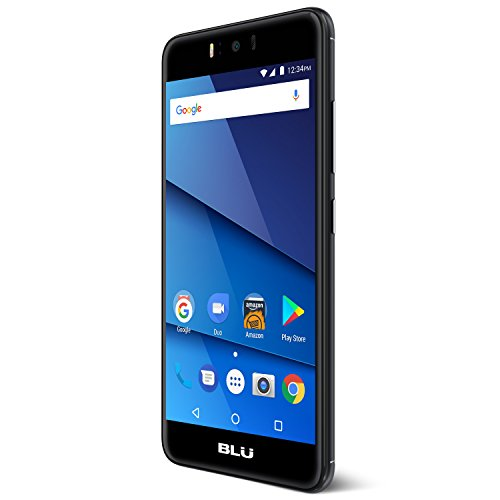 "BLU R2 PLUS - 4G LTE 5.5"" Full HD Unlocked Smartphone - 32GB + 3GB RAM -Black"
