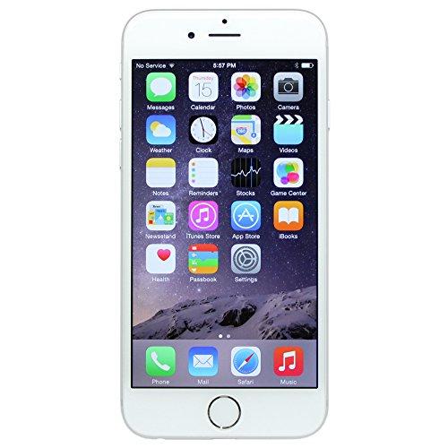 Apple iPhone 6 16 GB Unlocked, Silver (Certified Refurbished)