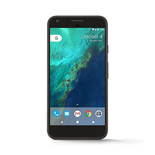 Google Pixel Phone - 5 inch display ( Factory Unlocked US Version ) (32GB, Quite Black)