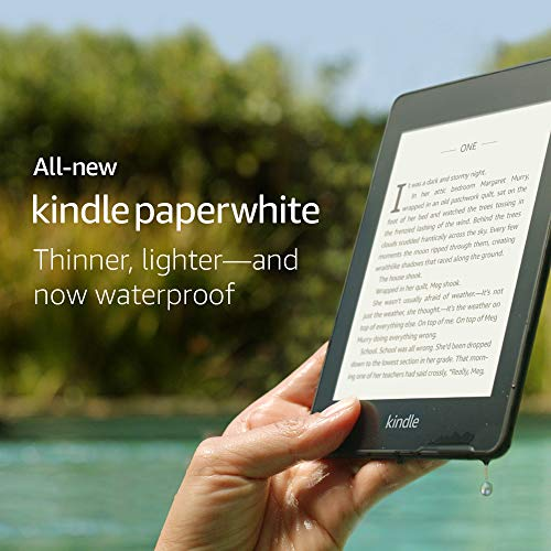 All-new Kindle Paperwhite - Now Waterproof with 2x the Storage - Includes Special Offers