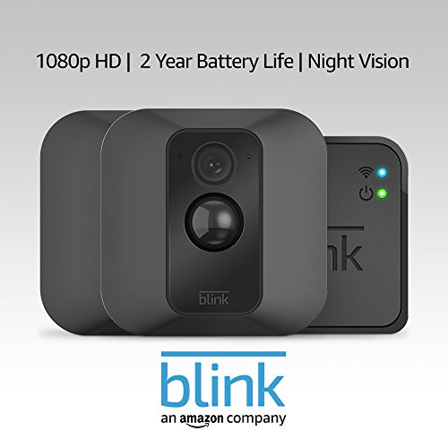 Blink XT Home Security Camera System with Motion Detection, Wall Mount, HD Video, 2-Year Battery Life and Cloud Storage Included - 2 Camera Kit