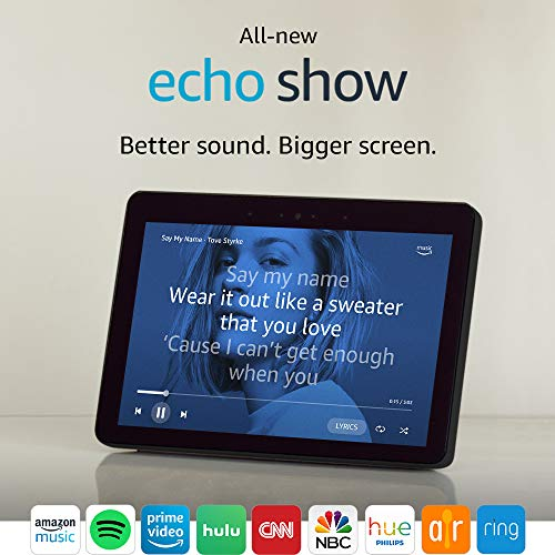 "All-new Echo Show (2nd Gen) - Premium sound and a vibrant 10.1"" HD screen - Charcoal"