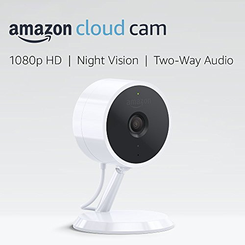Amazon Cloud Cam Security Camera, Works with Alexa