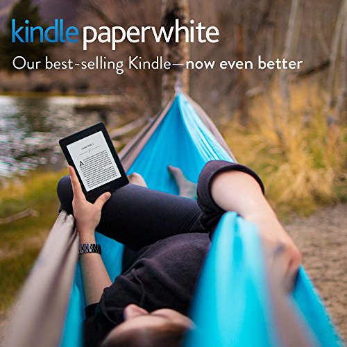 "Certified Refurbished Kindle Paperwhite E-reader - Black, 6"" High-Resolution Display (300 ppi) with Built-in Light, Wi-Fi - Includes Special Offers"