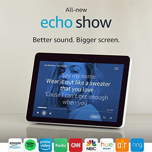 "All-new Echo Show (2nd Gen) - Premium sound and a vibrant 10.1"" HD screen - Sandstone"