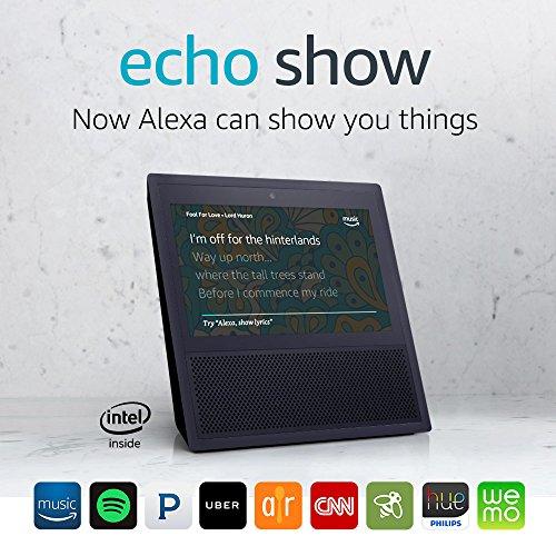 Certified Refurbished Echo Show (1st Gen) - Black