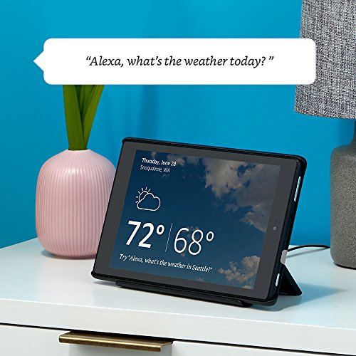 """Fire HD 10 Tablet with Alexa, 10"""" HD Display, 64 GB, Red - with Special Offers + All-New Show Mode Charging Dock"""