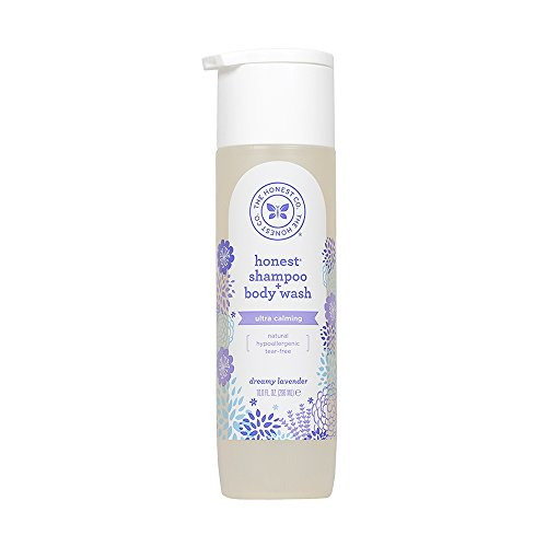 Honest Shampoo & Body Wash, Ultra Calming Dreamy Lavender, 10 Ounce