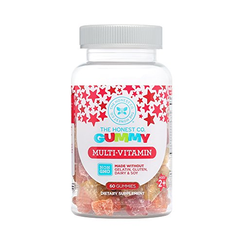 The Honest Company Multi-Vitamin Gummy, 60 Count