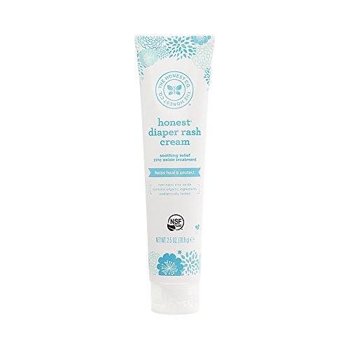 Honest Diaper Rash Cream, 2.5 Ounce