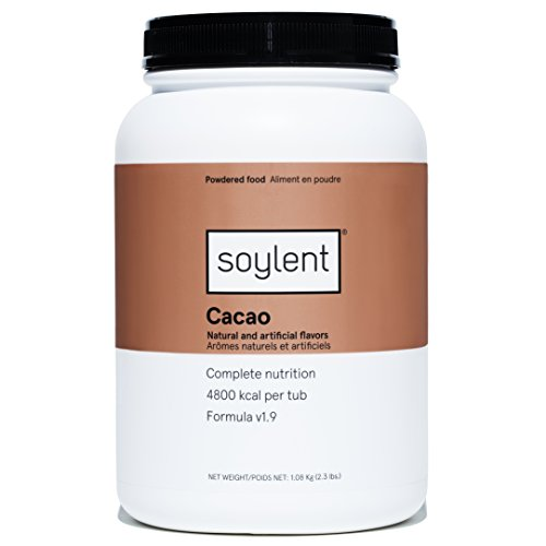 Soylent Meal Replacement Powder, Cacao, 2.3 Pound