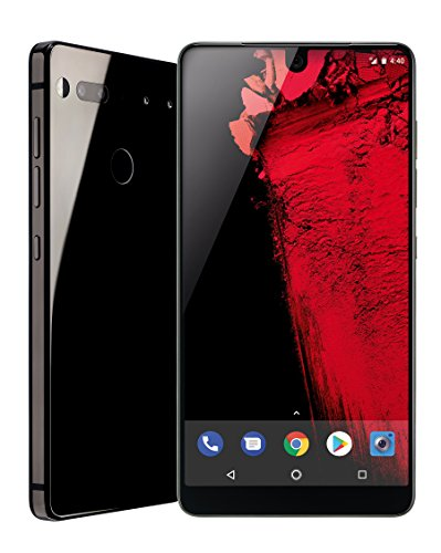 Essential Phone 128 GB Unlocked with Full Display, Dual Camera - Black Moon