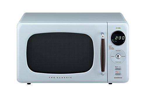 Daewoo Retro Countertop Microwave Oven