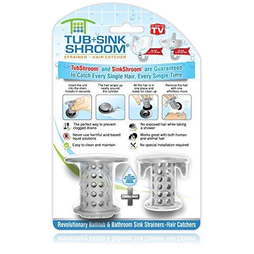 TubShroom CPTSSSCE1 Drain Protector Hair Cactcher