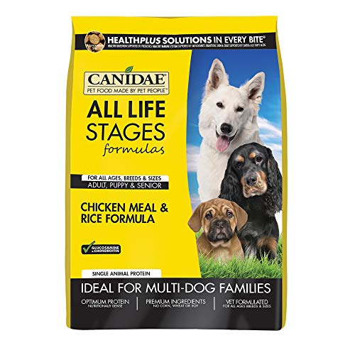 Canidae All Life Stages Dog Dry Food Chicken Meal & Rice Formula