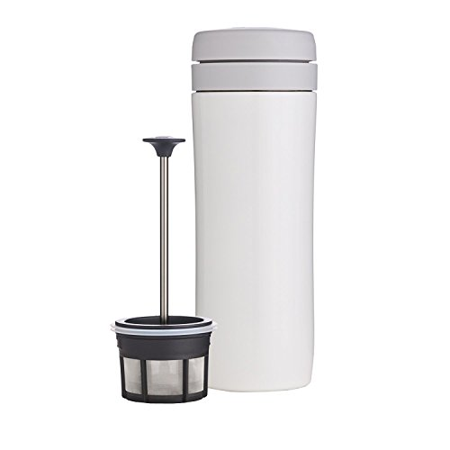 Espro Travel Coffee Press, Stainless Steel, 12 oz