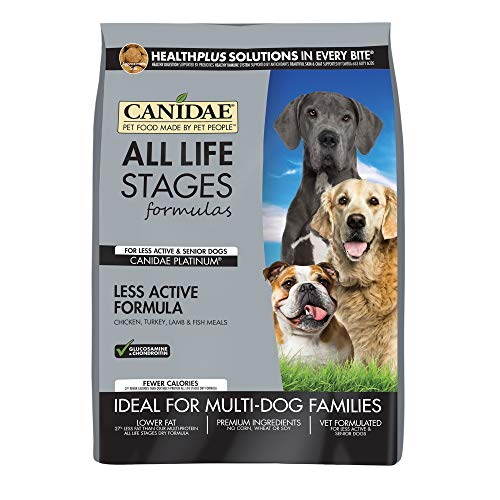 Canidae All Life Stages Platinum Less Active Dog Dry Food Multi-Protein Formula