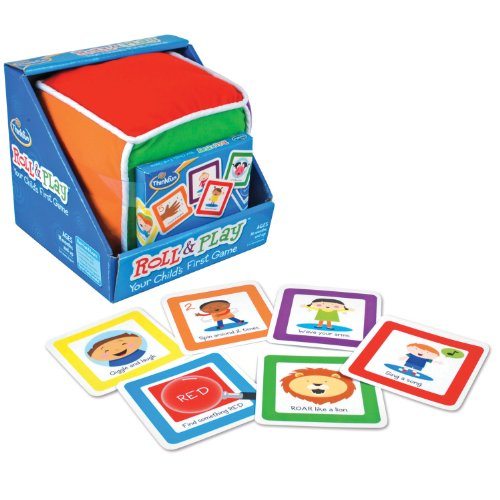 ThinkFun Roll and Play Game for Toddlers - Your Child's First Game! Award Winning and Fun for Parents and Kids