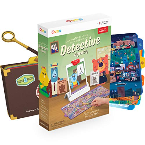 Osmo Detective Agency: A Search & Find Mystery Game That Explores The World! (Base Required)