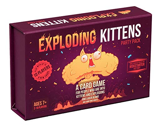 Exploding Kittens Party Pack - Play Exploding Kittens Withup to 10 Players!