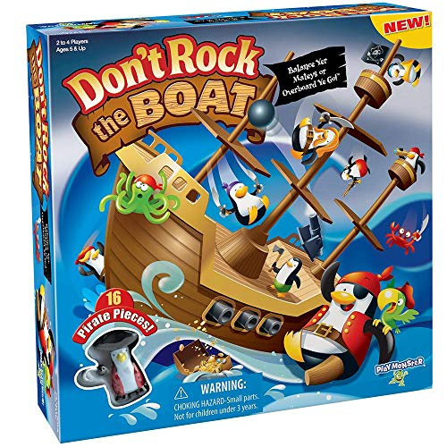 PlayMonster Don't Rock The Boat Skill & Action Balancing Game