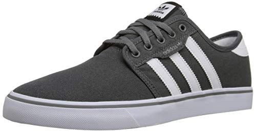 adidas Originals Men's Seeley Skate Shoe,Collegiate Navy/White/Blue,11.5 M US
