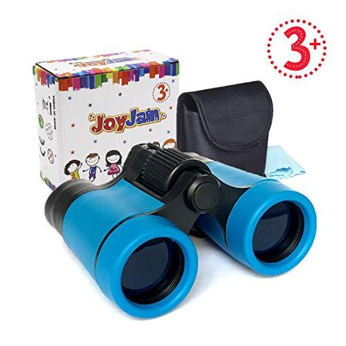 Joyjam Compact Shock Proof Kids Binoculars, Best Gift for Boys & Girls (Multi-Color)