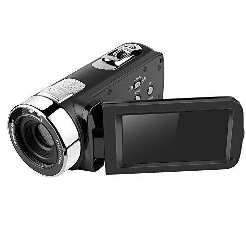 """Digital Video Camcorder,Dotca RV07 FHD 3""""LCD Screen Camera Suppport IR Nigt Vision/ 270-degree Rotation/HDMI And AV Output With 16X Zoom 1080P /Battery For Home And Outdoor Video Recording"""