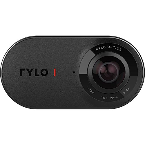 Rylo 360 Video Camera (iPhone Version) - Breakthrough stabilization, 5.8K Recording, Includes 16GB SD Card and Everyday Case