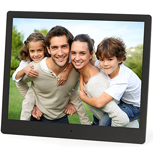 Micca NEO 10-Inch Digital Photo Frame, High Resolution IPS LCD, MP3 Music and 720P HD Video Playback, Auto On/Off Timer, Ultra Slim Design (M973A)