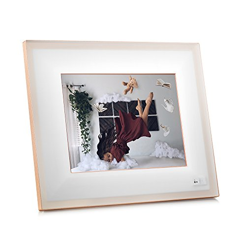 """AURA Frames - Oprah's Favorite Things List 2016 - Digital Photo Frame, Add Photos from iPhone & Android App, 9.7"""" HD Display, Unlimited Storage, Motion and Light Sensor, Wi-Fi, Facial Recognition"""