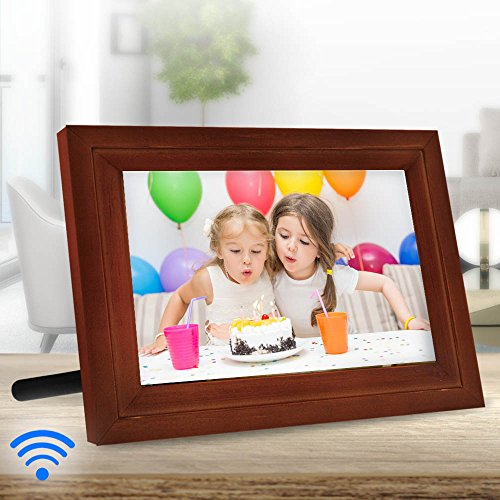 iCozy Digital Touch-Screen Wi-Fi Enabled Picture Frame 10""