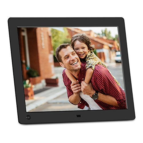 NIX Advance Digital Picture Frame, With HD Video, Hu Motion Sensor and USB/SD Card Playback - X10G