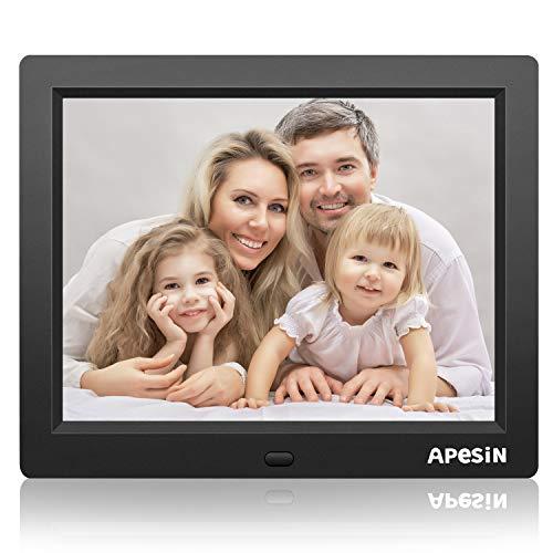 APESIN Digital Picture Frame, 12.1 Inch HD Screen(Black)