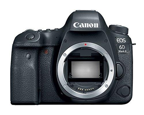Canon EOS 6D Mark II Digital SLR Camera Body (Certified Refurbished)