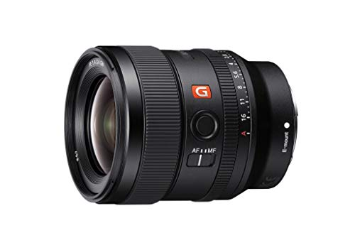 Sony E-mount FE 24mm F1.4 GM Full Frame Wide-angle Prime Lens (SEL24F14GM)