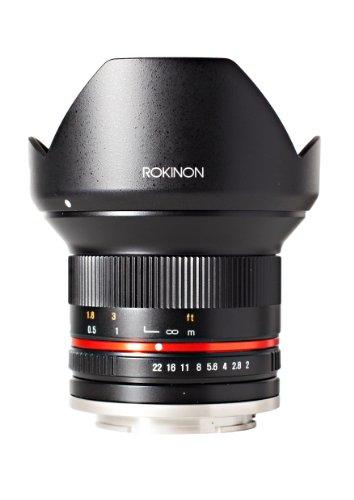 Rokinon 12mm F2.0 NCS CS Ultra Wide Angle Lens Sony E-Mount (NEX) (Black)  (RK12M-E)
