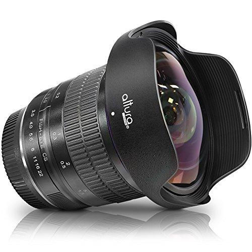 Altura Photo 8mm f/3.0 Professional Ultra Wide Angle Aspherical Fisheye Lens for Nikon D500 D3200 D3300 D3400 D5200 D5300 D5500 D5600 D7100 D7200 D7500 DSLR Cameras