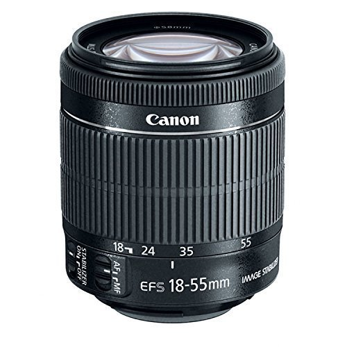 Canon 8114B002 EF-S 18-55mm is STM (Certified Refurbished)