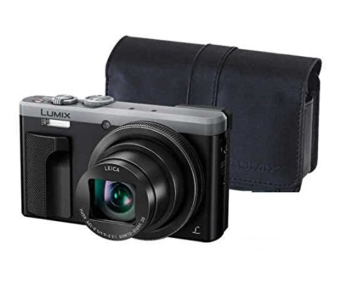 """~Labor Day Sale ~ Panasonic LUMIX 4K ZS60 Point and Shoot Camera, 30X LEICA DC Vario-ELMAR Lens F3.3-6.4, 18 Mp, DMC-ZS60S with """"CASE"""" (Certified Refurbished)"""