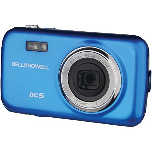 Bell+Howell DC5-BL 5MP Digital Camera with 1.8-Inch LCD (Blue)