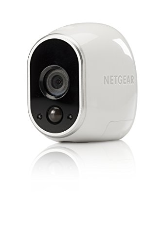 Arlo - Add-on Camera | Night vision, Indoor/Outdoor, HD Video, Wall Mount | Cloud Storage Included | Works with Arlo Base Station (VMC3030-100NAR) - (Certified Refurbished)
