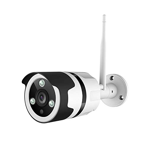 Netvue Outdoor Security Camera, 1080P Vigil Two-Way Audio Bullet Camera, IP66 Waterproof Surveillance Camera with FHD Night Vision, Motion Detection, Max 128GB Micro SD Card Supported